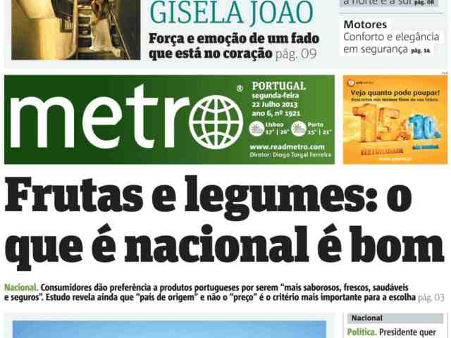 Metro o que e nacional
