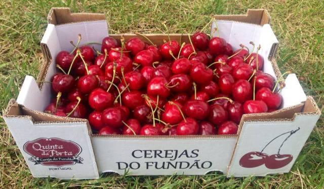 Caixa de cerejas